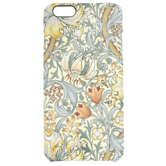 Goldenes Lilien iPhone 6/6S plus klaren Fall Durchsichtige iPhone 6 Plus Hülle