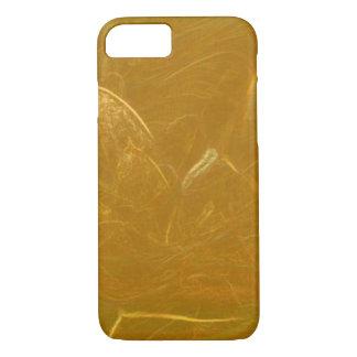 Goldenes Lotus ätzte Muster der iPhone 8/7 Hülle