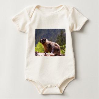 Goldenes Murmeltier Baby Strampler
