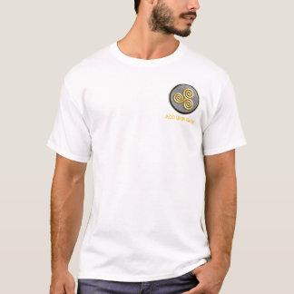 Goldenes Triskele T-Shirt