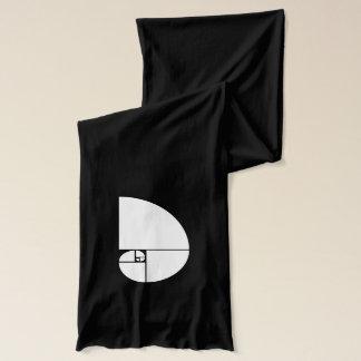 Goldenes Verhältnis, Fibonacci-Spirale Schal