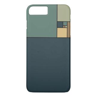 Goldenes Verhältnis quadriert (neutrale Personen) iPhone 8 Plus/7 Plus Hülle