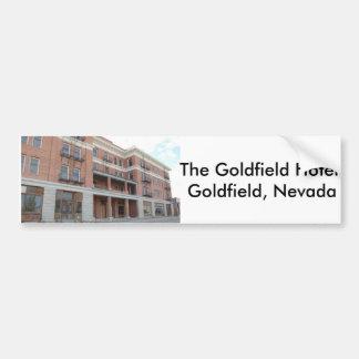 Goldfield Hotel-Autoaufkleber Autoaufkleber