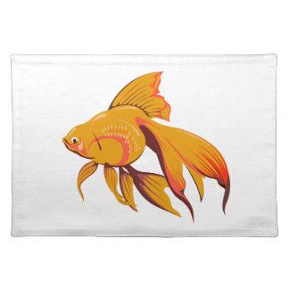 Goldfisch Tischset