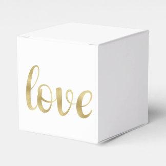 Goldfolien-Bevorzugungskasten Geschenkkartons