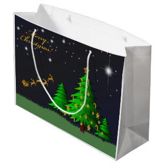 Goldfrohe Weihnachten Große Geschenktüte