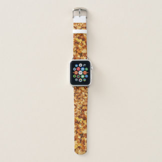Goldgelbfall-Ahorn-Blätter Apple Watch Armband