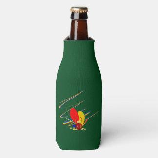 Goldgeld-ANG-Magieregenbogen Flaschenkühler