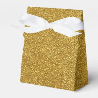 GoldGlitter-Beschaffenheits-Bevorzugungs-Kasten Geschenkschachteln