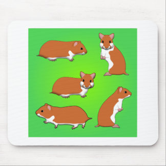 Goldhamster Mousepads