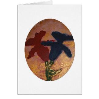 Goldhochzeitskarte für ein jüdisches Paar Grußkarte