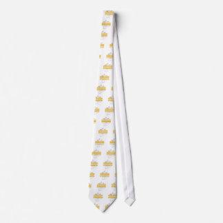 Goldkapitän, tony fernandes bedruckte krawatte