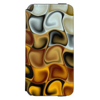 Goldkarierter Kasten Incipio Watson™ iPhone 6 Geldbörsen Hülle