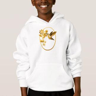 Goldkolibri-gerahmte Shirts