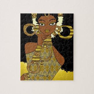 Goldkönigin Puzzle