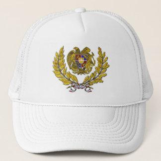 GoldKranz-armenisches Wappen Truckerkappe