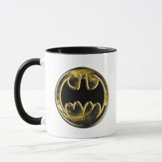 Goldlogo Batman-Symbol-| Tasse