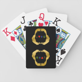 GoldPoker-Haifisch-Karten Bicycle Spielkarten
