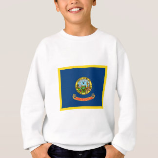 Goldrand-Idaho-Flagge Sweatshirt