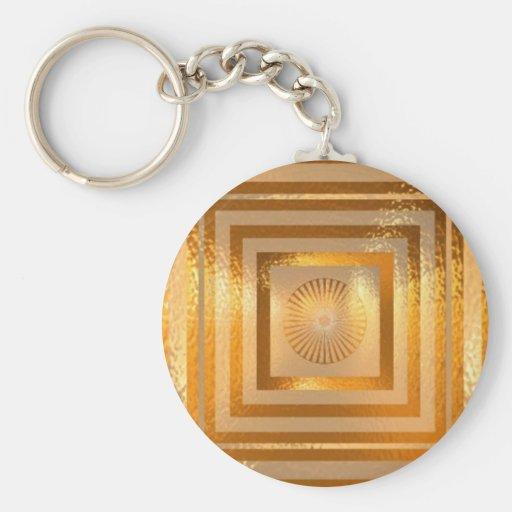 GOLDschein MANDALA - chinesische orientalische Schlüsselanhänger