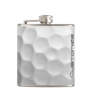 Golf-Ball-Flasche mit personalisiertem Namen
