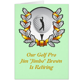 Golf invation karte