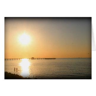 Golf-Küsten-Sonnenaufgang Karte