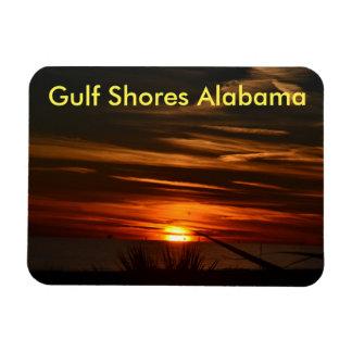 Golf-Küsten-Sonnenuntergang Magnet