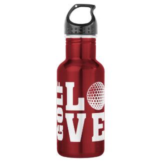 Golf-Liebe Edelstahlflasche