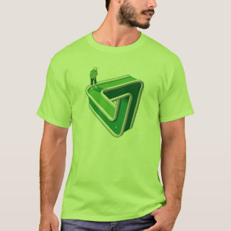 Golf-Spieler-Illusion T-Shirt