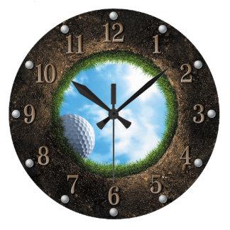 Golf-Wanduhr Wanduhr