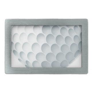 Golfball in einer Herz-Form Rechteckige Gürtelschnalle