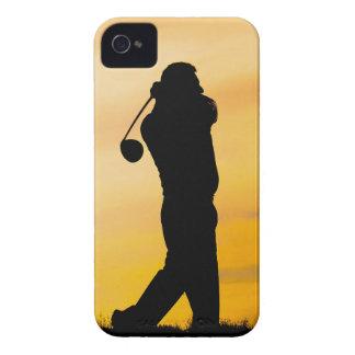 Golfspieler-BlackBerrykasten iPhone 4 Cover