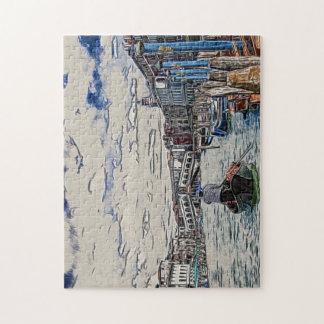 Gondel in Venedig Puzzle
