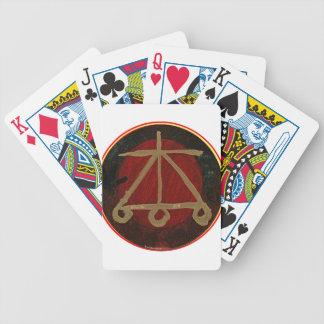Goodluck gebürtige Energie SYMBOLE Pokerkarten