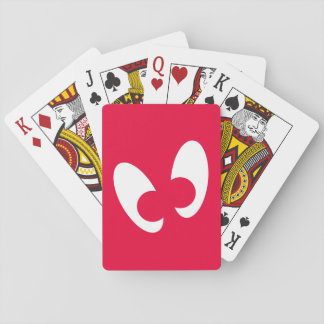 Googly Augen-Spielkarten, Standardindex-Gesichter Spielkarte
