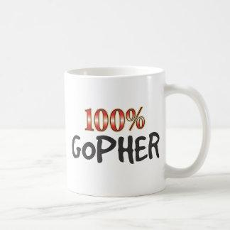 Gopher 100 Prozent Kaffeetasse