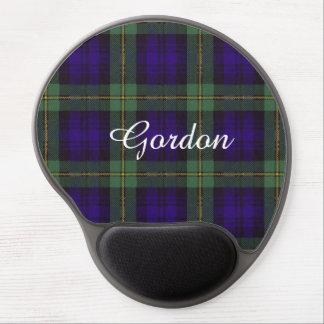 Gordon-Clan karierter schottischer Tartan Gel Mousepad