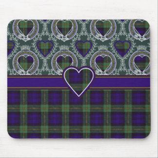 Gordon-Clan karierter schottischer Tartan Mauspads