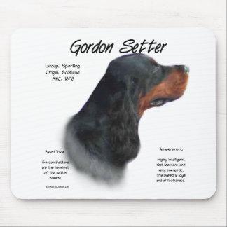 Gordon-Setzer-Geschichtsentwurf Mousepads