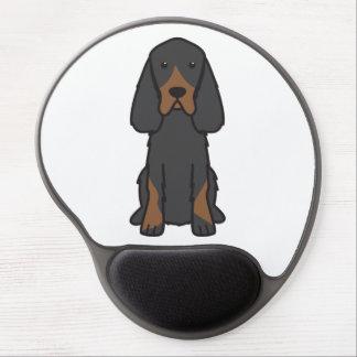 Gordon-Setzer-HundeCartoon Gel Mousepad