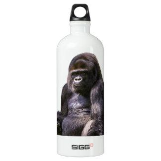Gorilla-Affen-Affe Aluminiumwasserflasche
