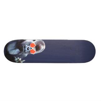 Gorilla middlefinger Straßen-Kunst-Skateboard Personalisierte Decks