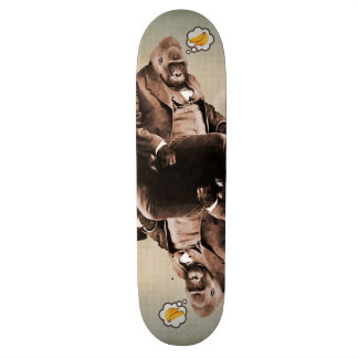 Gorilla träumt Skateboard-Plattform Personalisierte Skateboards