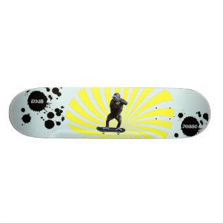 Gorilla-Verzerrung Bedrucktes Skateboard