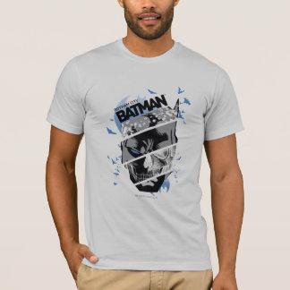 Gotham City Batman Schädel-Collage T-Shirt