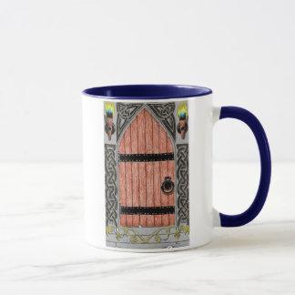 Gotische Tasse der Tür (Farbe)