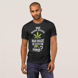Gott gemachter Unkraut-Gott machte Bier im Gott, T-Shirt