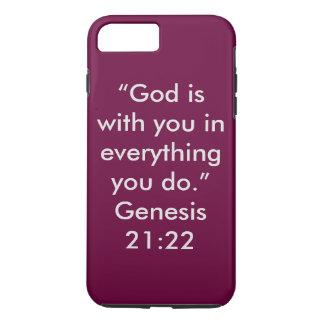 """""""Gott ist mit Ihnen"""" IPhone 6/6S starker Ext. iPhone 8 Plus/7 Plus Hülle"""