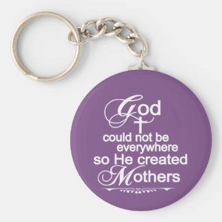 Gott könnte nicht überall sein, also stellte er schlüsselanhänger
